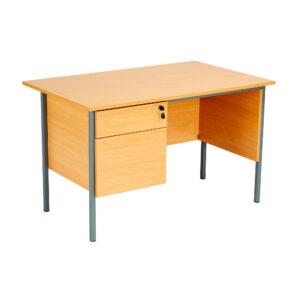 Eco Single 2 Drawer Desk