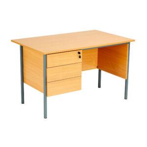 Eco 18 Single Desk 3 Draw