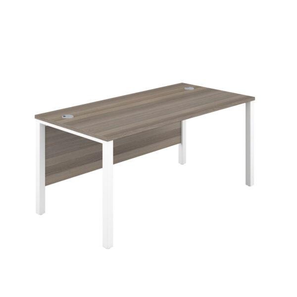 Single Goalpost Rectangular Desk