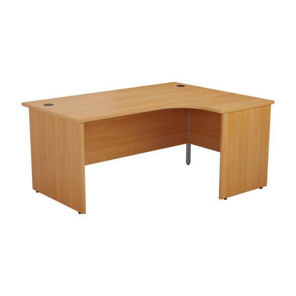 Radial Panel Desk