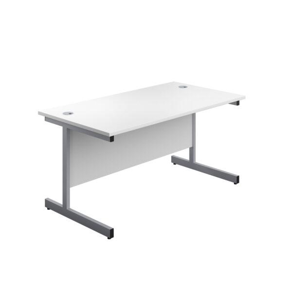 Single Upright Leg Desk